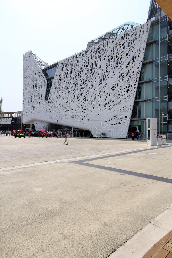 Expo de Milán, Italia foto de archivo libre de regalías