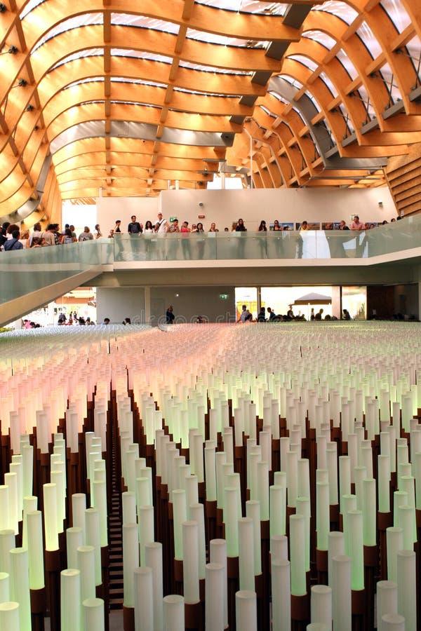 Expo 2015 de Milano fotos de archivo libres de regalías