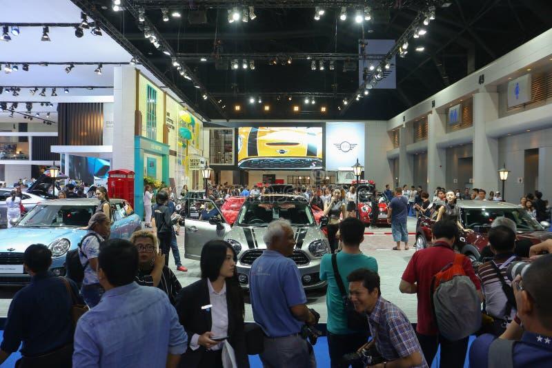 Expo del motor Bangkok 2018 en la 39.a presentando al nuevo mini tonelero fotos de archivo libres de regalías