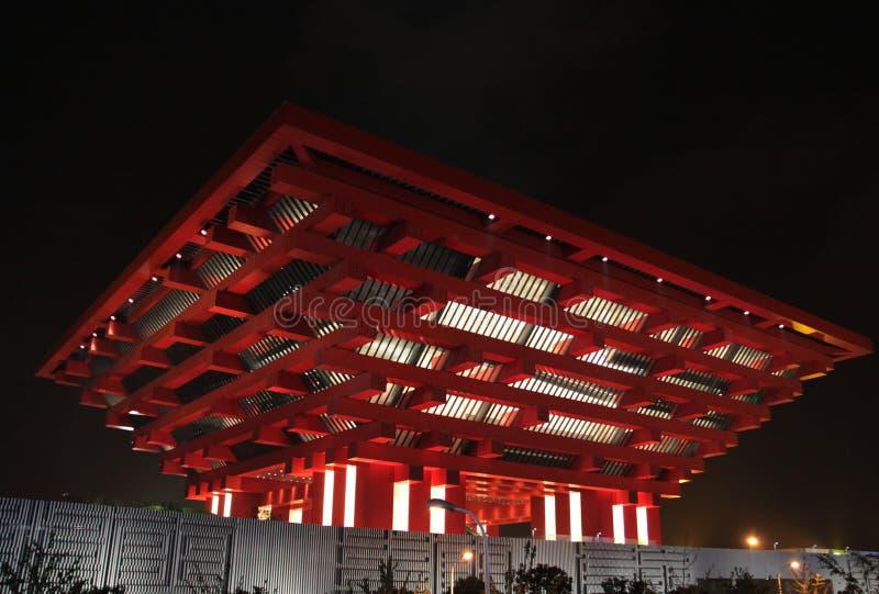 Expo 2010 del mundo de China de Shangai del pabellón de China fotos de archivo