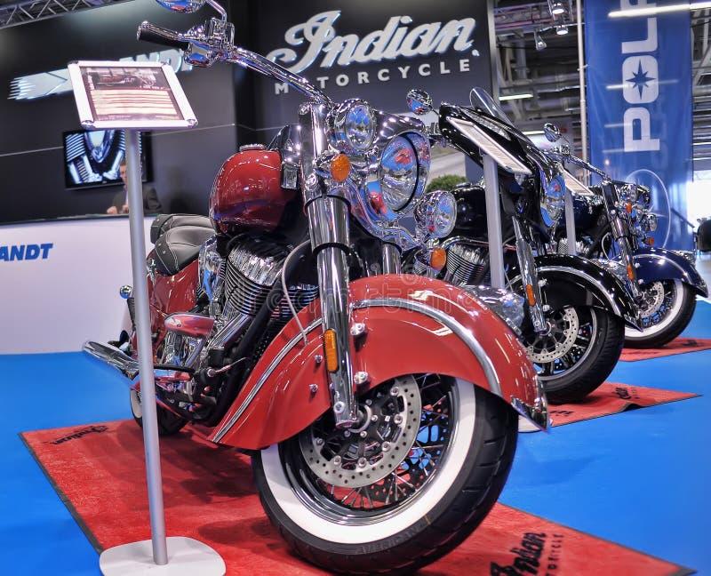 Expo della bici di Moto immagini stock