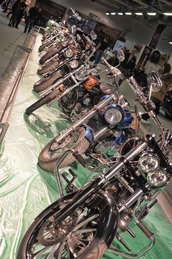 Expo della bici di Moto immagine stock libera da diritti