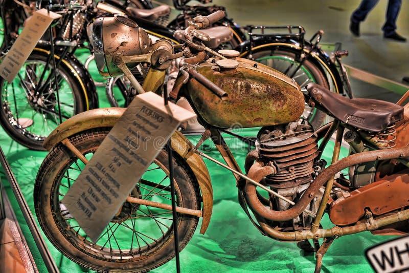 Expo della bici di Moto fotografie stock