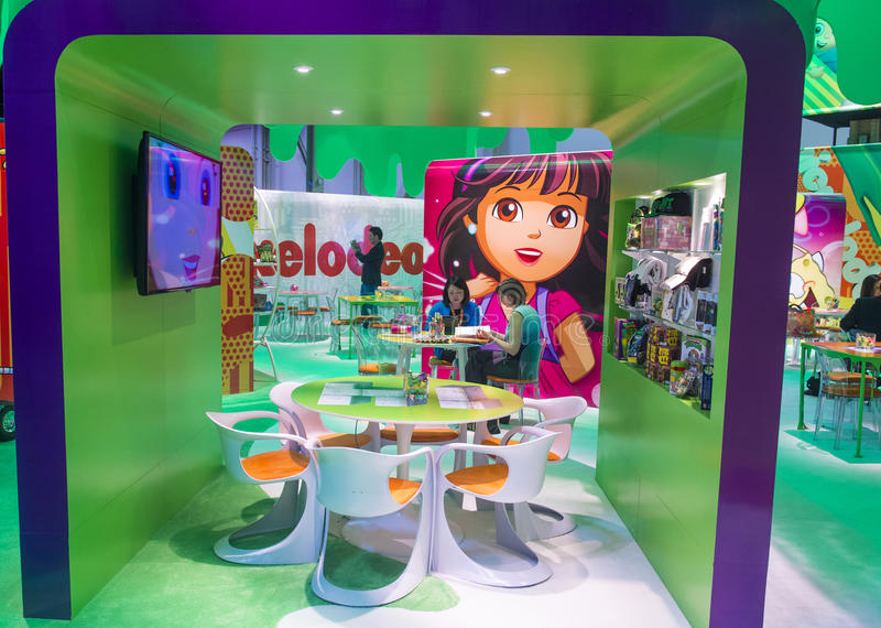 Expo 2014 di autorizzazione immagini stock