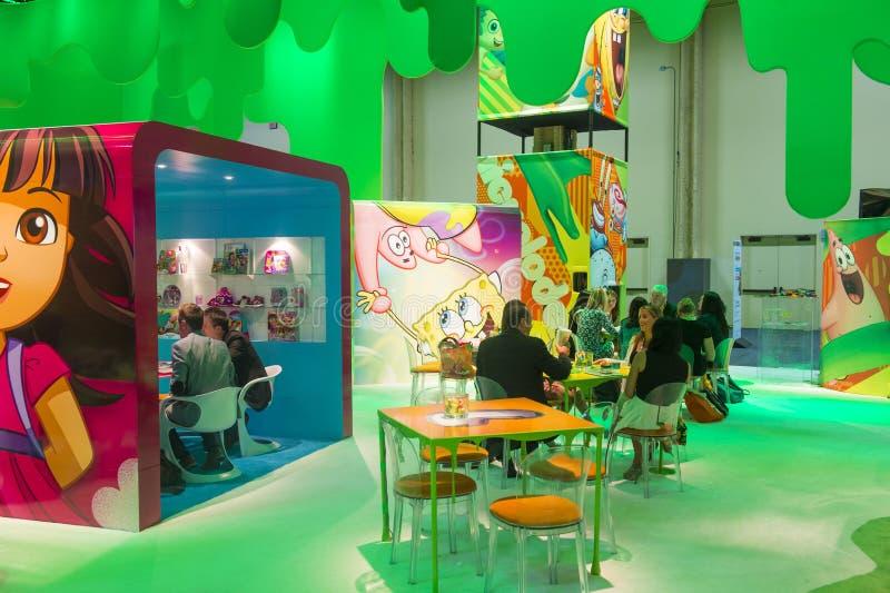 Expo 2014 di autorizzazione fotografie stock