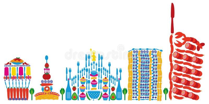 Expo 2015 di Milano illustrazione vettoriale