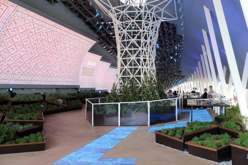 Expo di Milano, Italia immagini stock