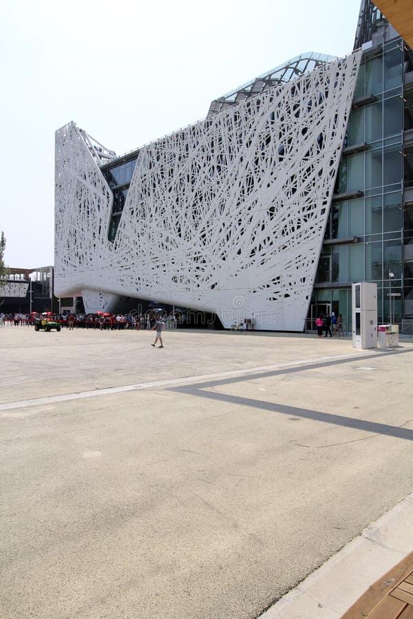 Expo di Milano, Italia fotografia stock libera da diritti