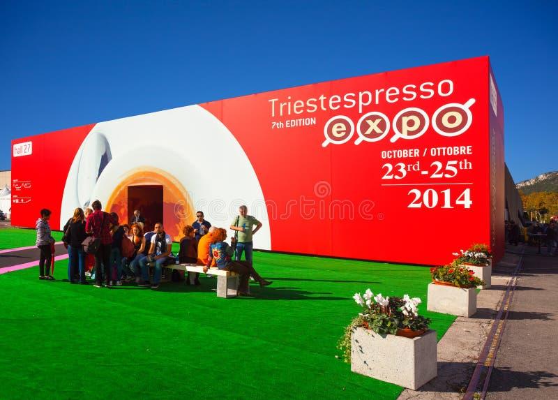 Expo do café de Trieste imagens de stock royalty free