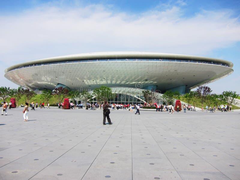 Expo du monde de Changhaï image stock