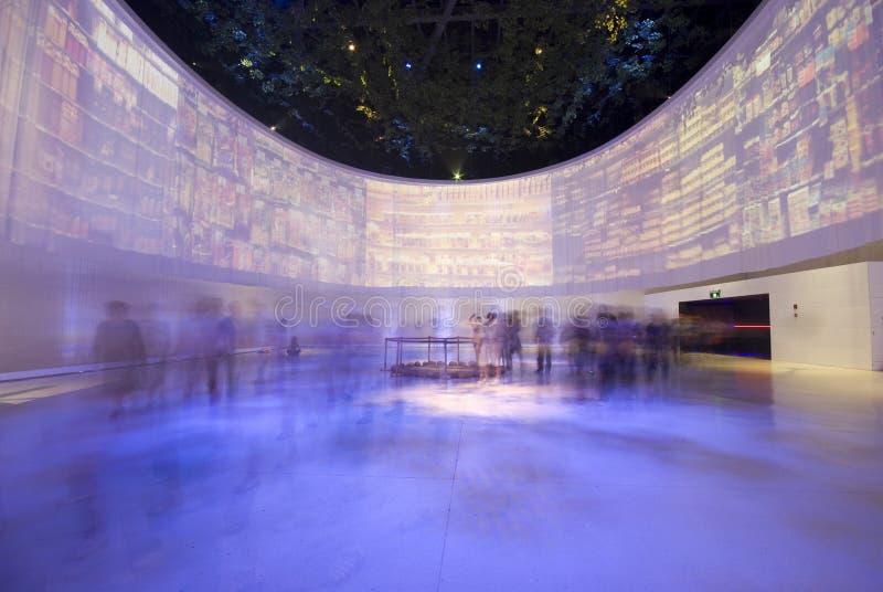Expo du monde de Changhaï photographie stock libre de droits