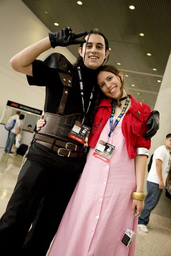 expo för anime 2008 8546 royaltyfria foton