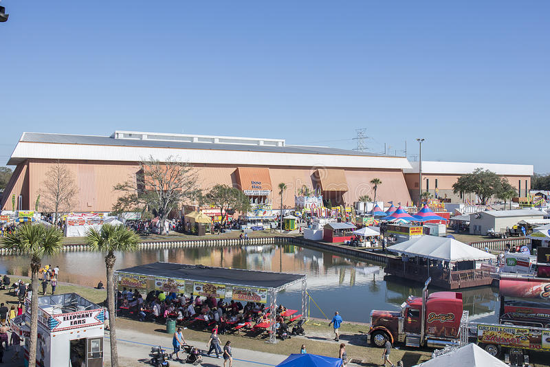 Expo Hall, Florida State Fairgrounds stock photos