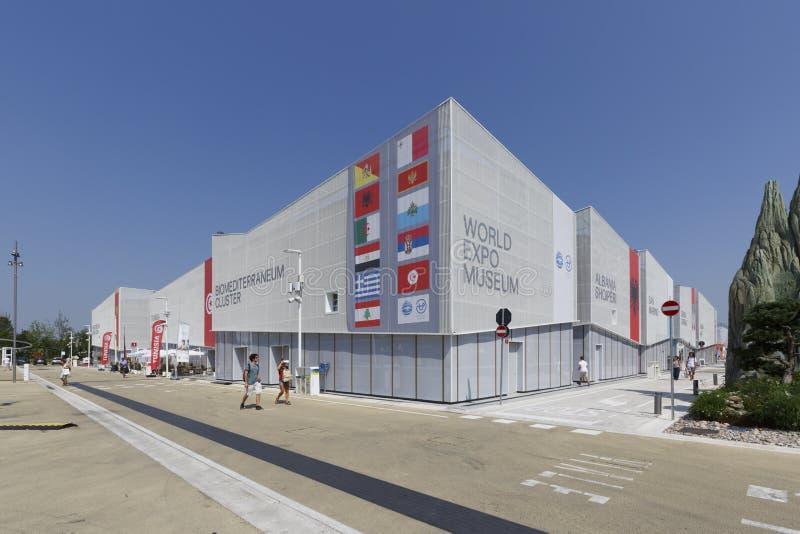 EXPO 2015 Mediolan, Włochy - zdjęcia royalty free