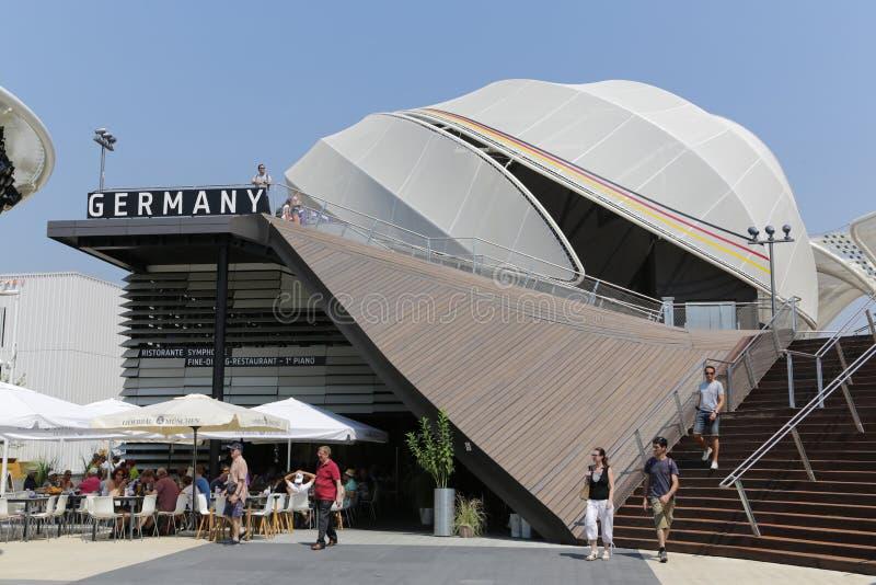Expo Milan du monde photo libre de droits