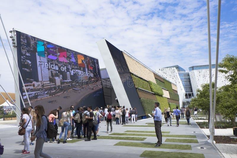 Expo Milan Israel Pavilion 2015 immagini stock
