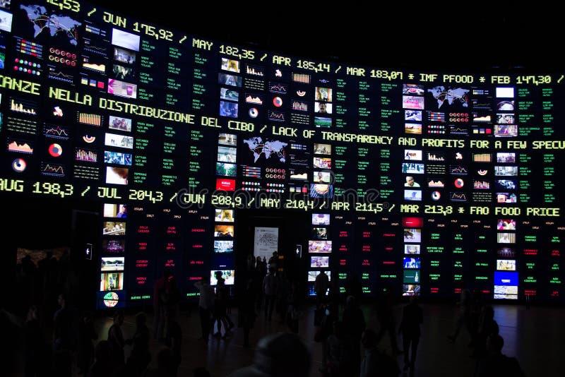 Expo 2015 Milan royalty free stock photos