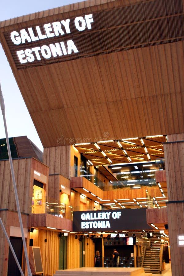 Expo Milano 2015 fotografering för bildbyråer
