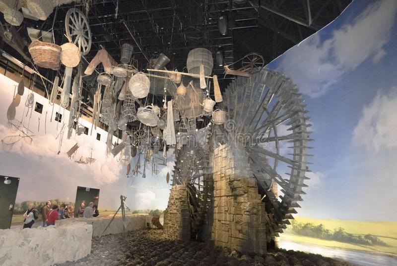 Expo Milano 2015 Italia immagini stock libere da diritti