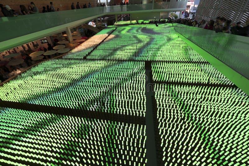 Expo Milano 2015 Italia immagine stock libera da diritti