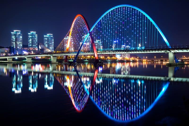 EXPO most w Daejeon, Korea zdjęcie stock