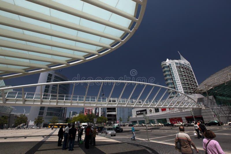 EXPO PARQUE DAS NACOES DE EUROPA PORTUGAL LISBOA imagem de stock royalty free