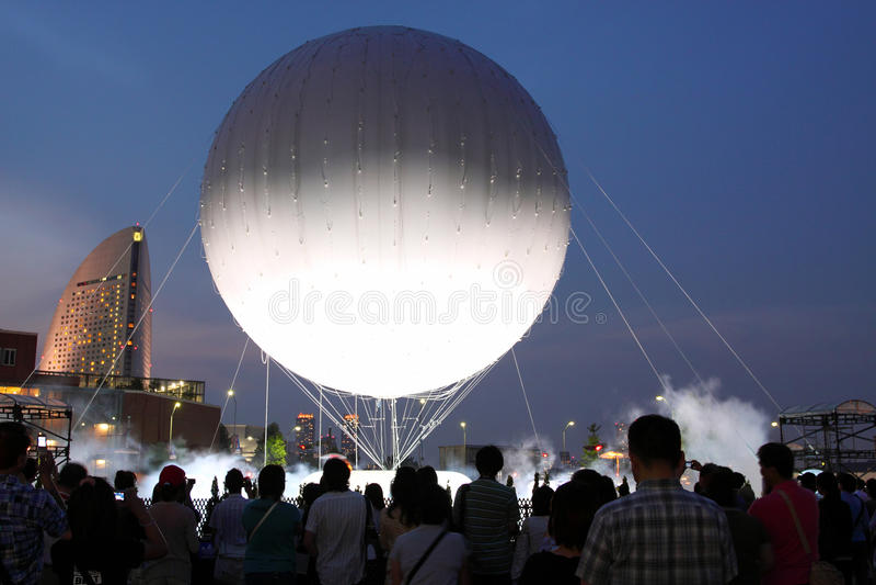 Expo pendant année de Yokohama la 150th photos stock