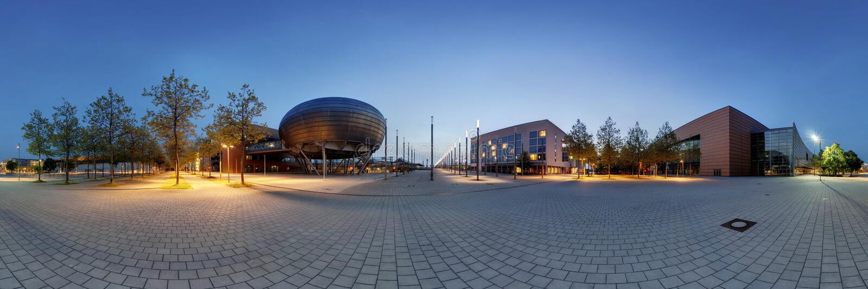 Expo-Plaza Hannover fotografie stock libere da diritti