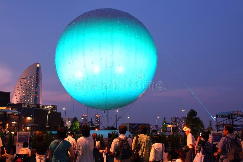Japan : Expo for Yokohamas 150th Year stock image
