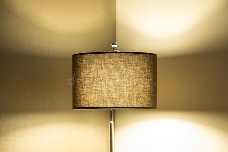 exponerad lampa royaltyfri bild