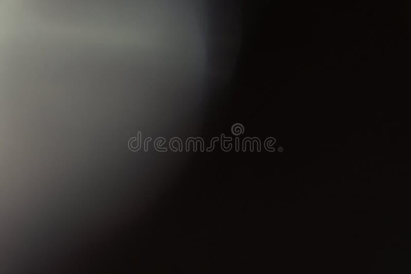 Exponering för ljus för Lens signalljus minimalistic glödande grå fotografering för bildbyråer