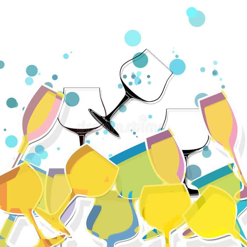 Exponeringsglas stock illustrationer