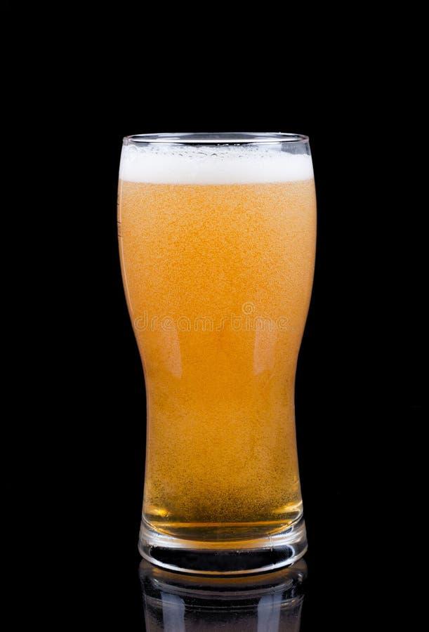 Exponeringsglas av öl royaltyfri bild