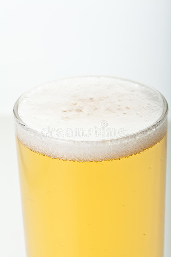 Exponeringsglas av öl royaltyfria bilder