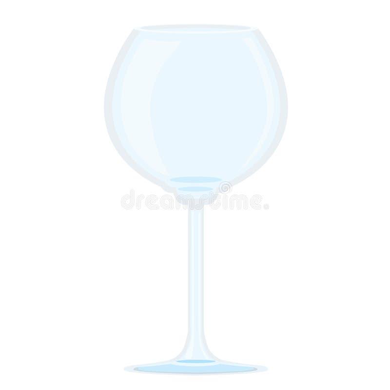 Exponeringsglas av champagne stock illustrationer