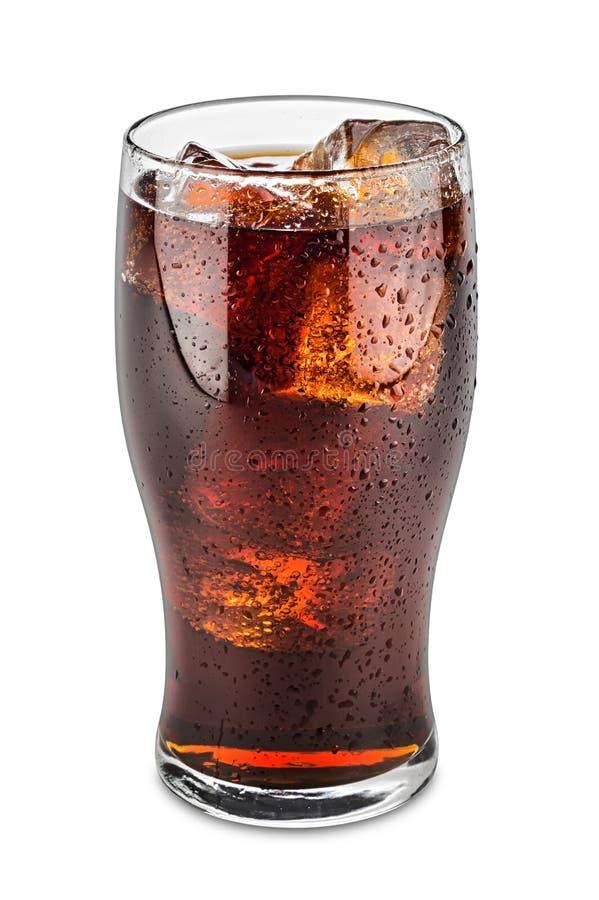Exponeringsglas av cola royaltyfri bild