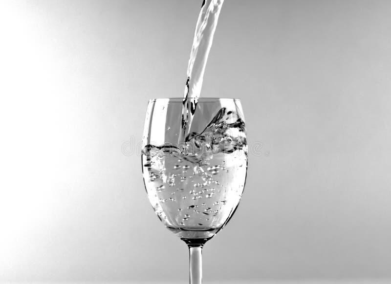 Exponeringsglas av vatten 2 royaltyfri foto