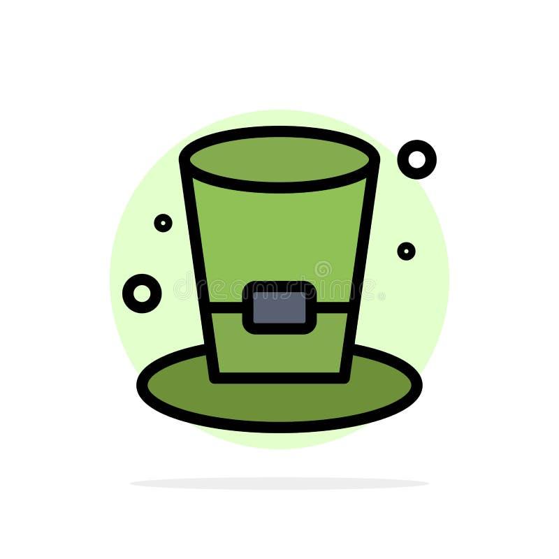 Exponeringsglas drink, vin, symbol för färg för bakgrund för ölabstrakt begreppcirkel plan stock illustrationer