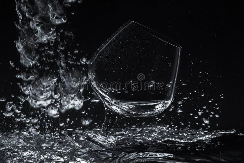 Exponeringsglas i wather arkivbild