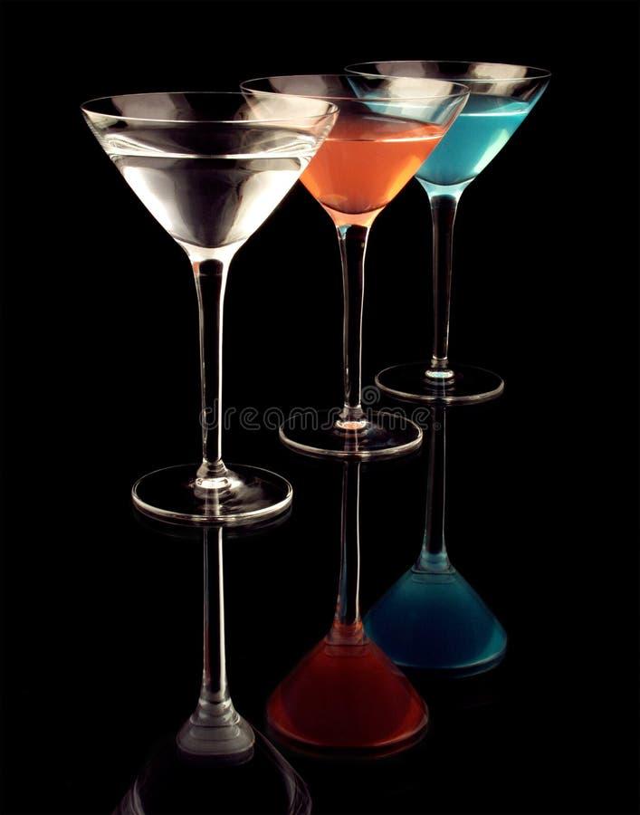exponeringsglas martini arkivbilder