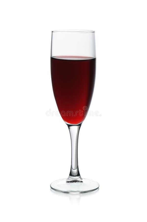 Exponeringsglas med den röda vinrankan royaltyfri fotografi