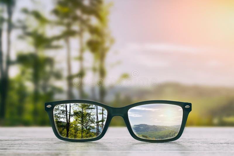 Exponeringsglasbegrepp royaltyfri fotografi
