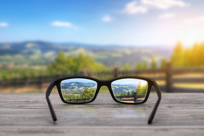 Exponeringsglasbegrepp royaltyfria foton