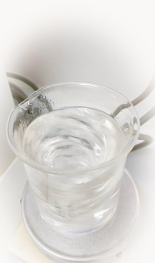 Exponeringsglasmaterial och magnetisk blandare royaltyfri foto