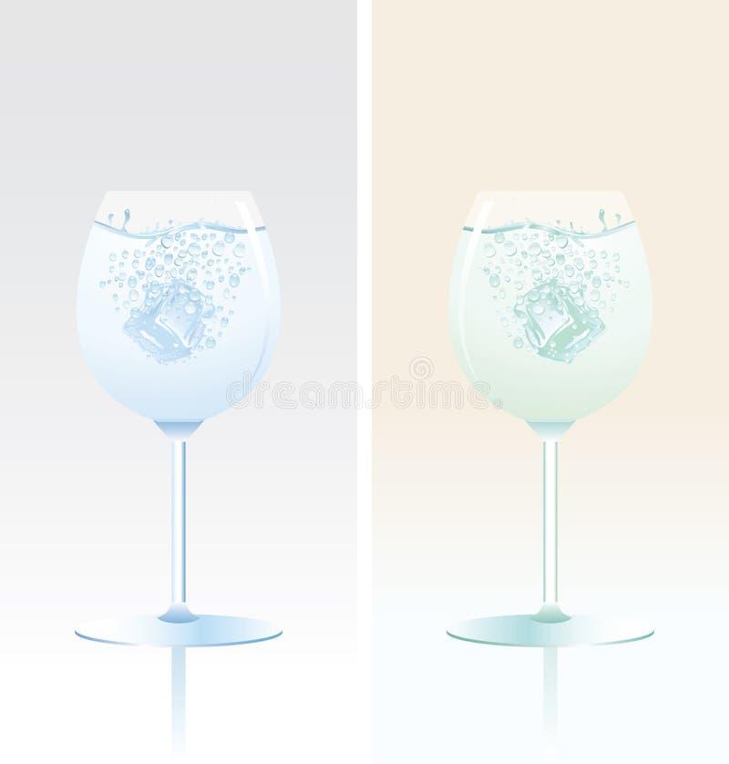 exponeringsglastulpan två vektor illustrationer