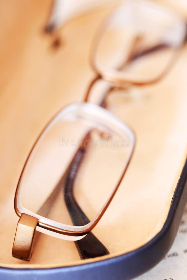 exponeringsglasvision för dåligt fall arkivfoton