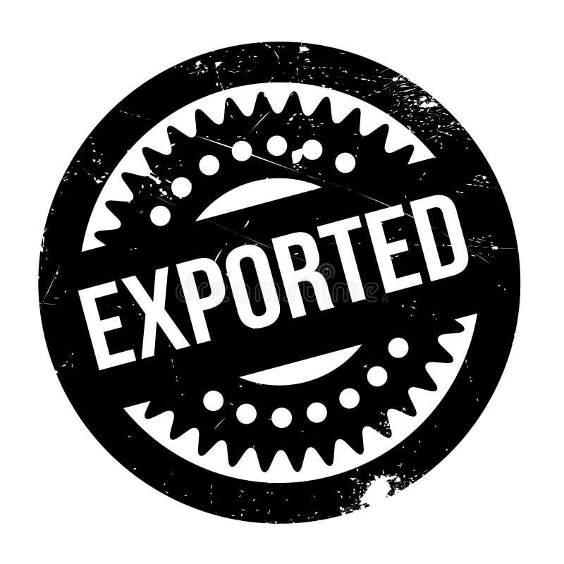 Exportstempel lizenzfreie stockfotos