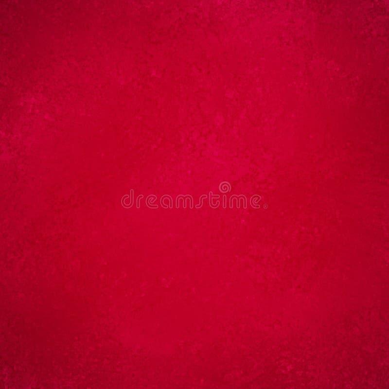 Exposé introductif rouge solide avec la conception grunge de texture de vintage illustration de vecteur
