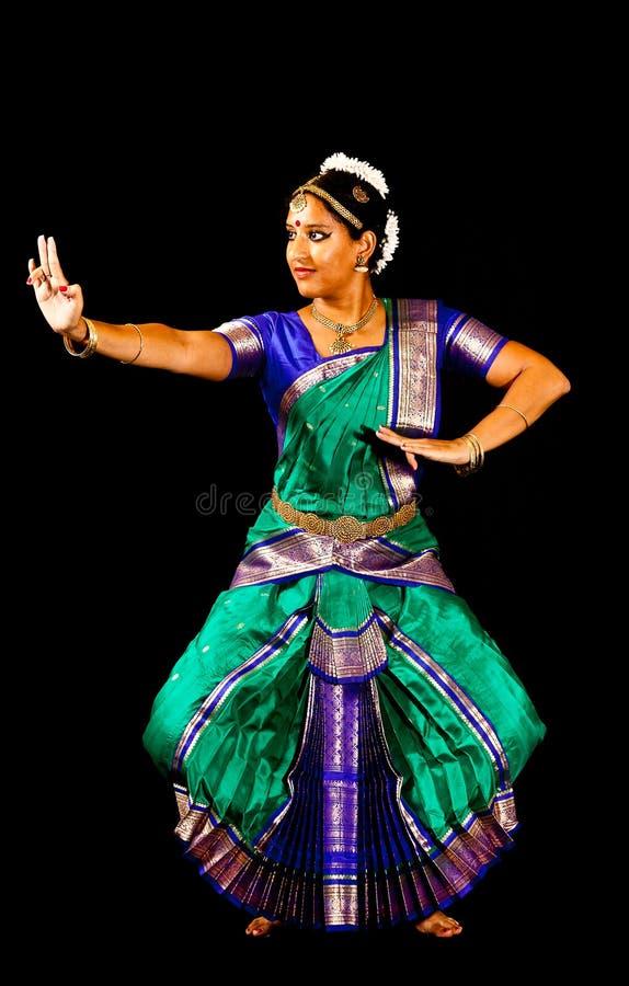 Exposant de danse de Bharata Natyam photo libre de droits