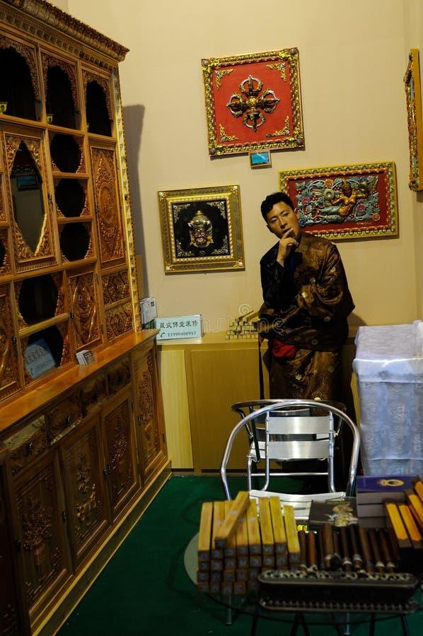 Exposant le 2013 WCIF, Chengdu image stock